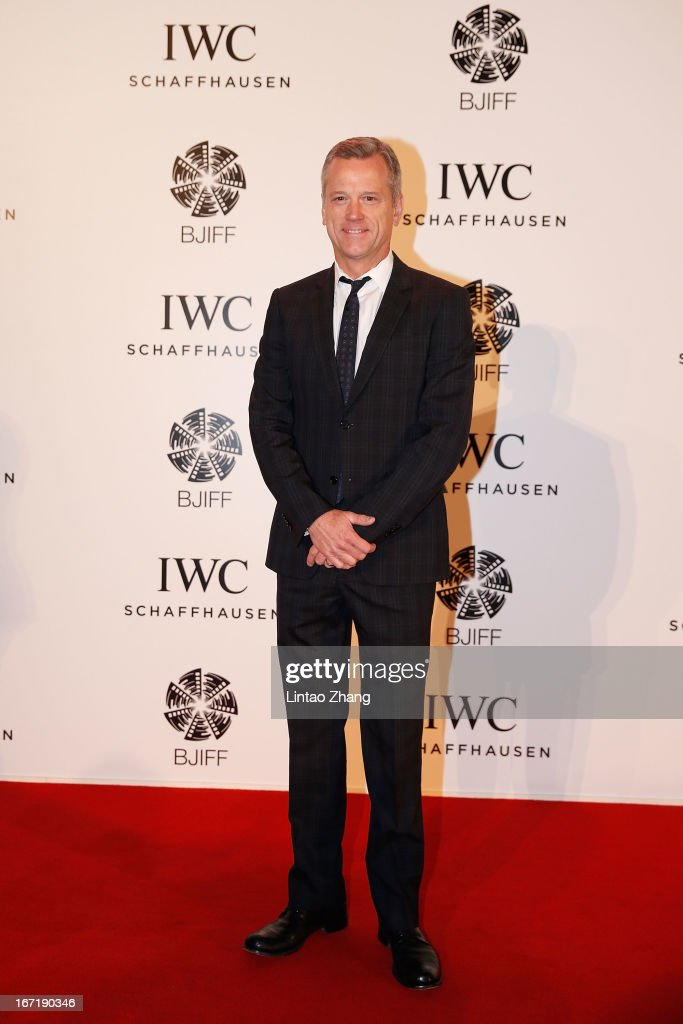 Paul Hanneman, Co-president, Twentieth Century Fox International 20 attends the exclusive 'For the Love of Cinema' event hosted by Swiss watch manufacturer IWC Schaffhausen in the role as new sponsor of the Beijing International Film Festival, at the Ming Dynasty City Wall on April 22, 2013 in Beijing, China.
