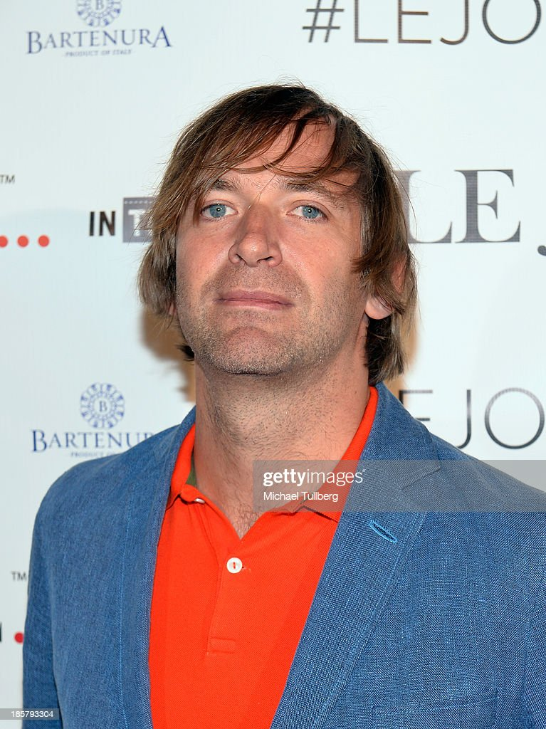 DJ Paul Harris attends the LeJolie.com launch party at No Vacancy on October 24, 2013 in Los Angeles, California.