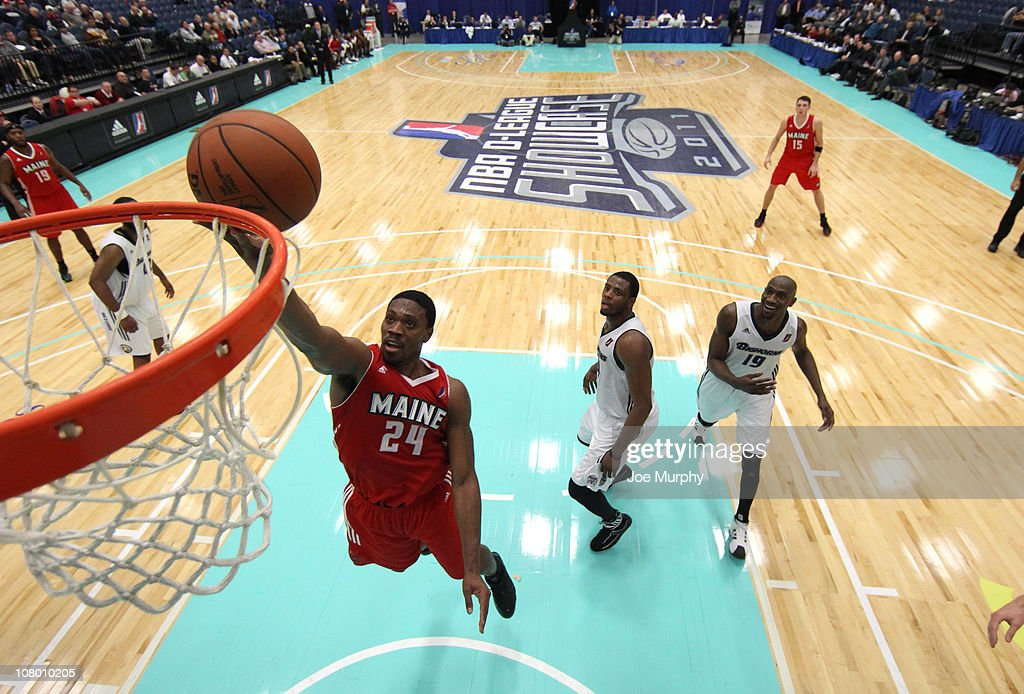 Paul Harris #24 of the Maine Red Claws shoots the ball against the Reno Big Horns during the 2011 NBA D-League Showcase on January 12, 2011 at the South Padre Island Convention Center in South Padre Island, Texas.