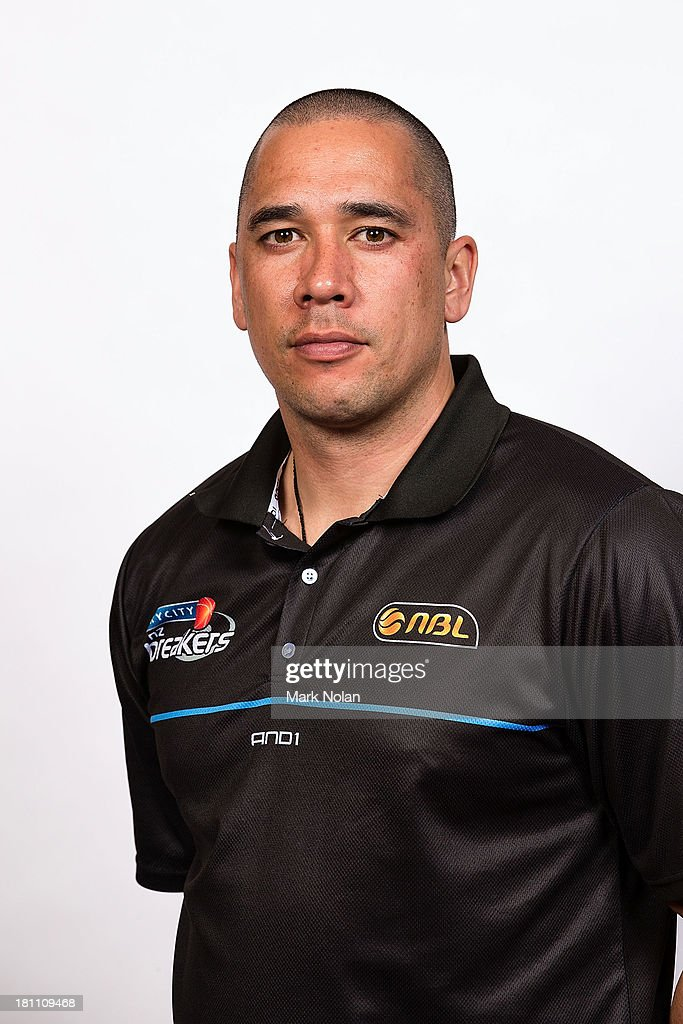 Paul Henare of the New Zealand Breakers poses for a photo during the official 2013/14 NBL Headshots Session at The Entertainment Quarter on September 19, 2013 in Sydney, Australia.