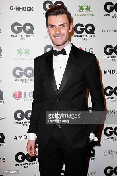 Paul Henry Duval arrives at the GQ Men of the year Award 2016 at Komische Oper on November 10 2016 in Berlin Germany