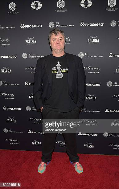Paul Hoffman attends 2016 Gala Opening for World Chess Championship at The Plaza Hotel on November 10 2016 in New York City