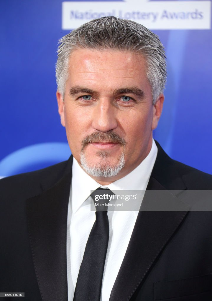 <a gi-track='captionPersonalityLinkClicked' href=/galleries/search?phrase=Paul+Hollywood&family=editorial&specificpeople=9044619 ng-click='$event.stopPropagation()'>Paul Hollywood</a> attends The National Lottery Awards 2012, celebrating the UK's favourite Lottery-funded projects and the difference they make to their communities at The London Studios on December 8, 2012 in London, England.