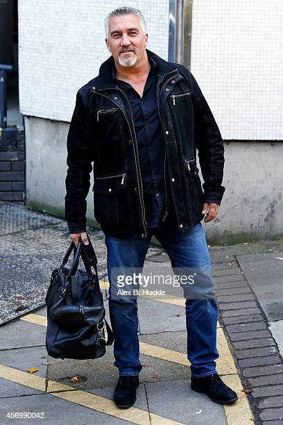 Paul Hollywood seen leaving the ITV Studios on October 10 2014 in London England Photo by Alex Huckle/GC Images