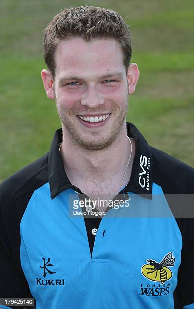 Paul Holmes academy physiotherapist of London Wasps poses for a portrait during the photocall held at the Wasps training ground on September 3 2013...