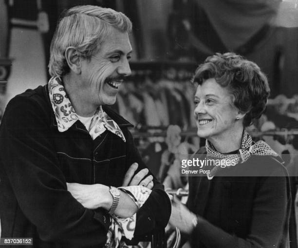 Paul Hutson and his wife Ellen take a break during business hours at the Janet Lee Shop at 4401 Tennyson St Mrs Hutson who owns three Janet Lee Shops...