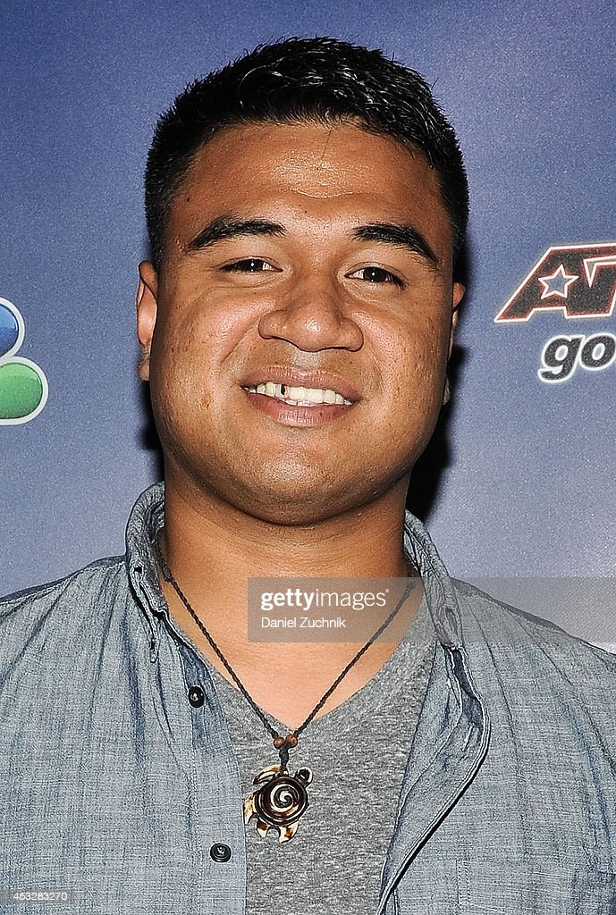 Paul Ieti attends 'America's Got Talent' season 9 post show red carpet event at Radio City Music Hall on August 6, 2014 in New York City.