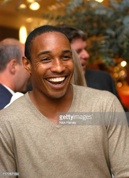 Paul Ince during Philippe Starck Puma Shoe Launch Party at Habitat Sloane Avenue in London Great Britain