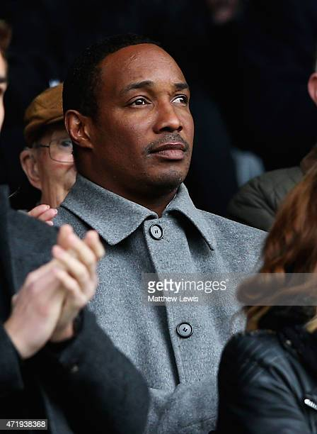 Paul Ince looks on during the Sky Bet Championship match between Derby County and Reading at iPro Stadium on May 2 2015 in Derby England