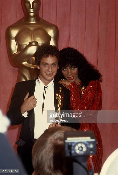 Paul Jabara and Donna Summer at the 51st Annual Academy Awards circa 1979 in Los Angeles California