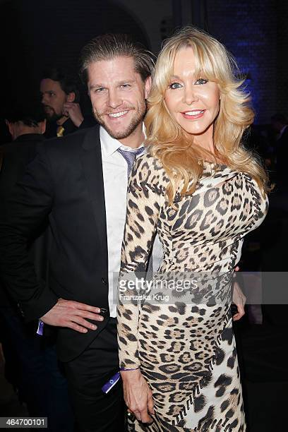 Paul Jahnke and Dolly Buster attend the Mira Award 2014 on January 23 2014 in Berlin Germany
