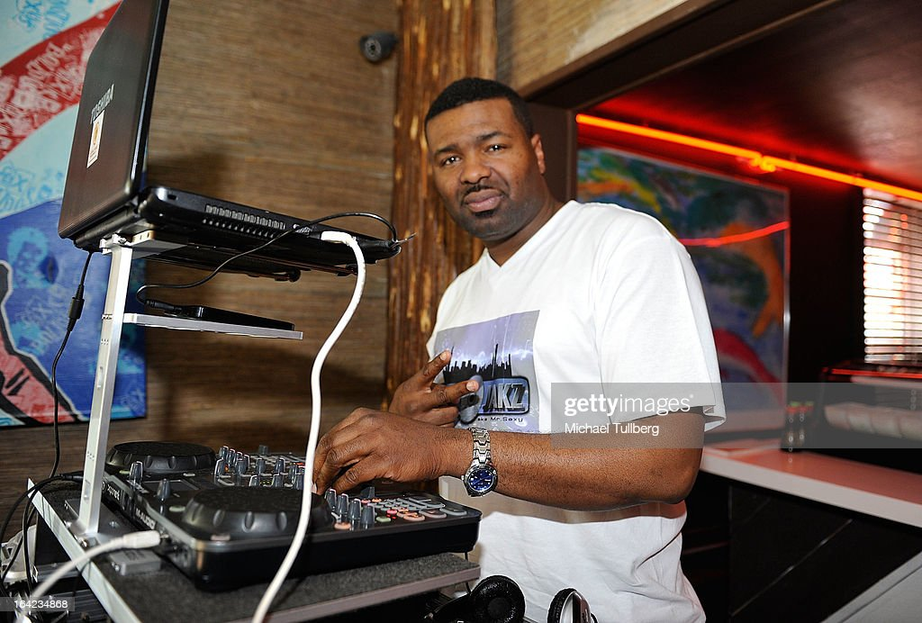 DJ Paul James spins at the Chesterfield Hotel during Winter Music Conference 2013 on March 21, 2013 in Miami Beach, Florida.