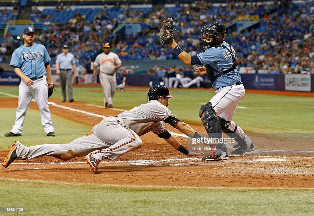 Baltimore Orioles v Tampa Bay Rays