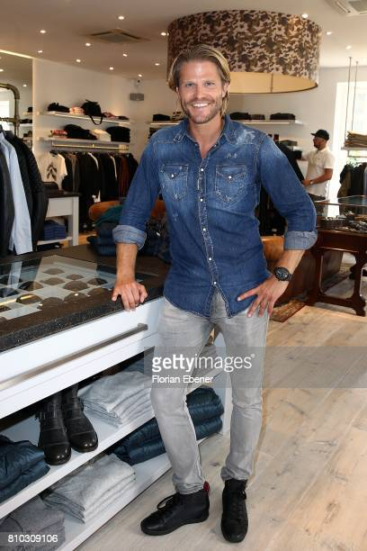Paul Janke attends a store event on July 7 2017 in Sylt Germany