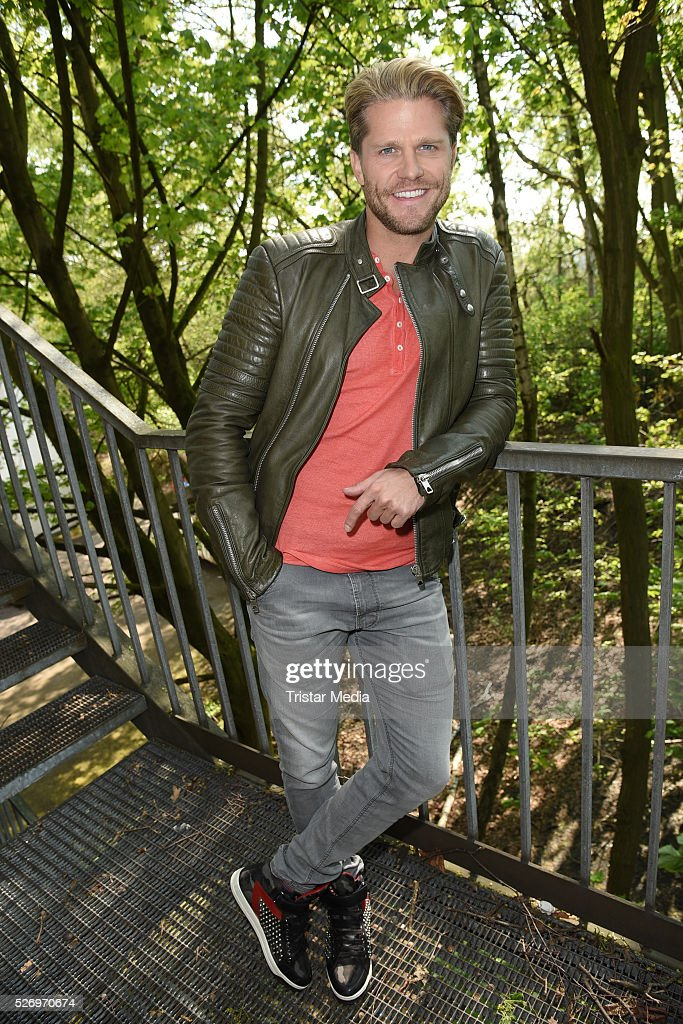 Paul Janke attends the VIP Area - 'BILD Renntag' At Trabrennbahn Gelsenkirchen on Mai 01, 2016 in Gelsenjirchen, Germany.