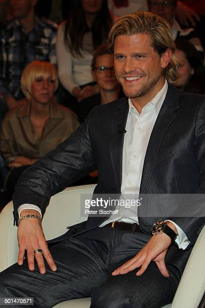 Paul Janke ZDFTalkshow 'Markus Lanz' HamburgBahrenfeld Deutschland Europa Studio TalkShow Promi BB CD PNr 030/2014
