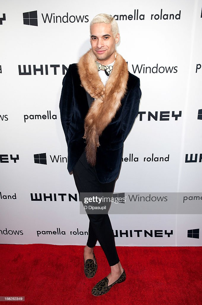 Paul Johnson Calderon attends the Whitney Museum of American Art's 2012 Studio Party at The Whitney Museum of American Art on December 11, 2012 in New York City.