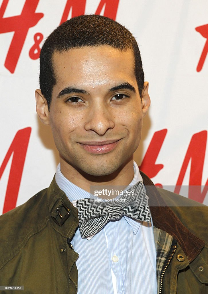 Paul Johnson-Calderon attends H&M's launch of Fashion Against AIDS at H&M Fifth Avenue on May 19, 2010 in New York City.