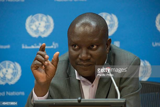 Paul Kanyinke Sena former chair of the Permanent Forum on Indigenous Issues comments on the lack of questions about Africa posed by the media present...
