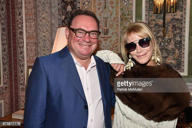 Paul Kasmin and Lisa Jackson attend Richard Mishaan's 'Well Traveled Room' at the Kips Bay Boys and Girls House Show House Opening Night on May 1...