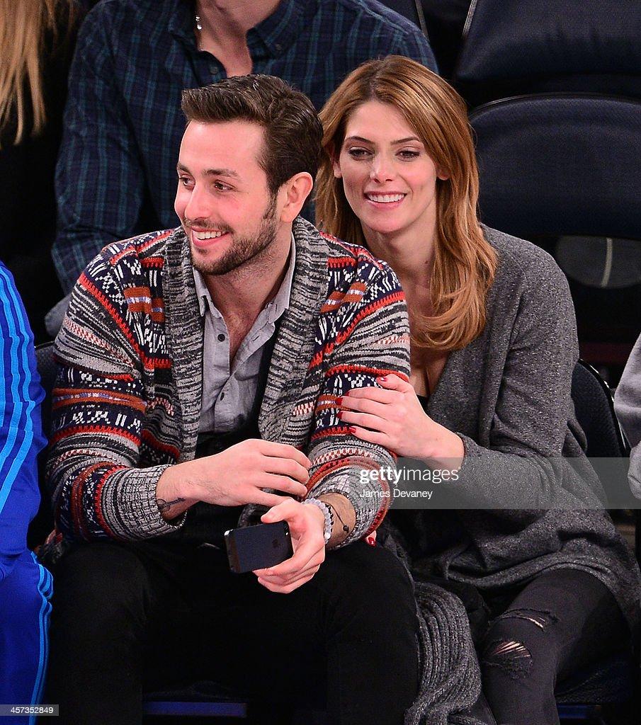 celebrities attend the washington wizards vs new york knicks game