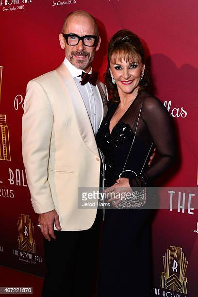 Paul Killick and Shirley Ballas attend the 2015 Royal Ball Hollywood Gala at Millennium Biltmore Hotel on March 21 2015 in Los Angeles California
