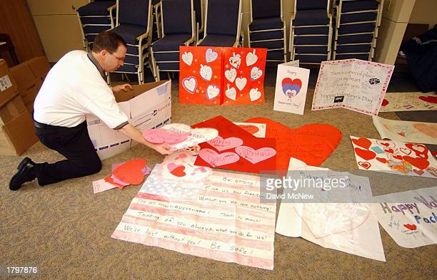 one million valentines collected for us troops huge valentines day cards