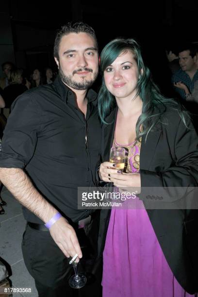 Paul Kruger and Denise Duffy attend ASSOCIATION to BENEFIT CHILDREN Junior Committee Fundraiser at Gansevoort Hotel on September 14 2010 in New York...