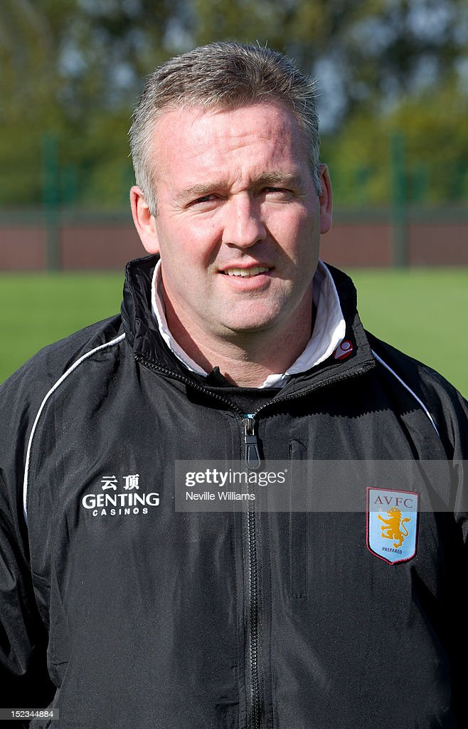 Paul Lambert manager of Aston Villa poses during the club's 2012/13 photo call at the club's training ground at Bodymoor Heath on September 18, 2012 in Birmingham, England.