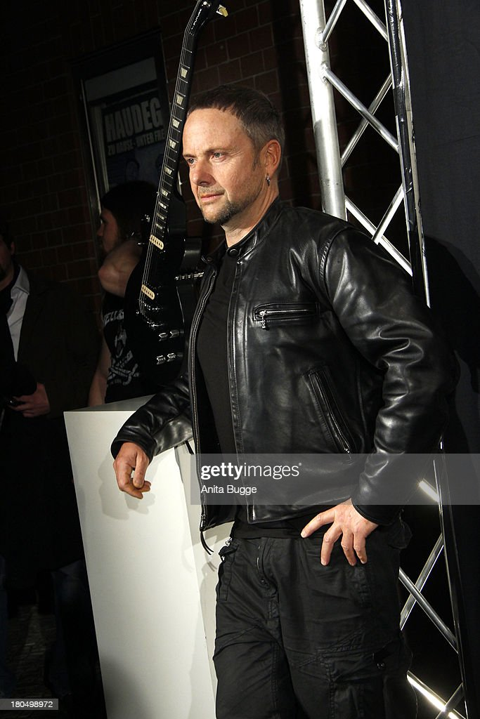 <a gi-track='captionPersonalityLinkClicked' href=/galleries/search?phrase=Paul+Landers&family=editorial&specificpeople=811911 ng-click='$event.stopPropagation()'>Paul Landers</a> (Rammstein) attends the Metal Hammer Awards 2013 at Kesselhaus on September 13, 2013 in Berlin, Germany.