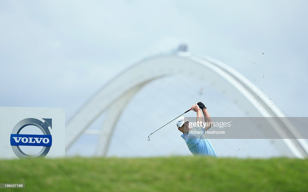Paul Lawrie of Scotland in action during the final round of the Volvo Champions at Durban Country Club on January 13, 2013 in Durban, South Africa.