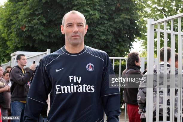 Paul LE GUEN Reprise entrainement du PSG Camp des Loges Saison 2007/2008