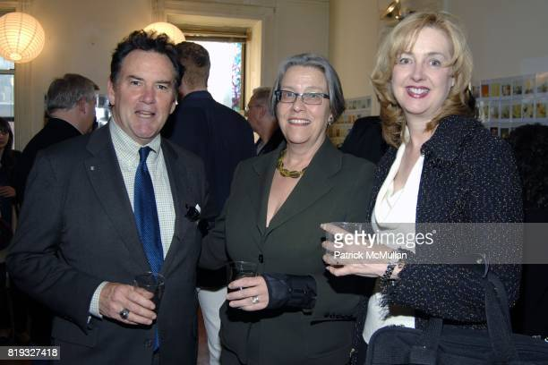 Paul Leitner Kathy Murray and Rebecca Campbell attend PETER HALPERT FINE ART Gallery presents 600 Polaroids by MIKAEL KENNEDY at Chelsea Hotel on...