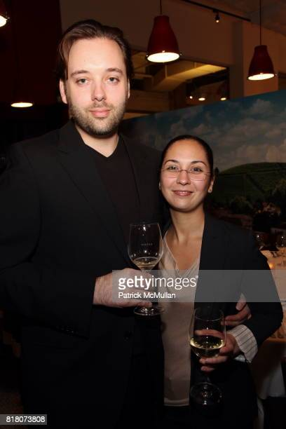 Paul Liebrandt and Arleene Oconitrillo attend Epicurious 15th Anniversary Dinner at Eataly on September 29 2010 in New York