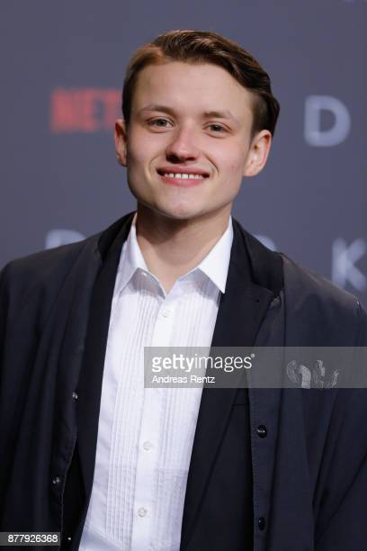 Paul Lux attends the premiere of the first German Netflix series 'Dark' at Zoo Palast on November 20 2017 in Berlin Germany