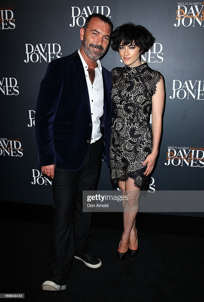 Paul Mac and Megan Washington arrive for the David Jones A/W 2013 Season Launch at David Jones Castlereagh Street on February 6, 2013 in Sydney, Australia.