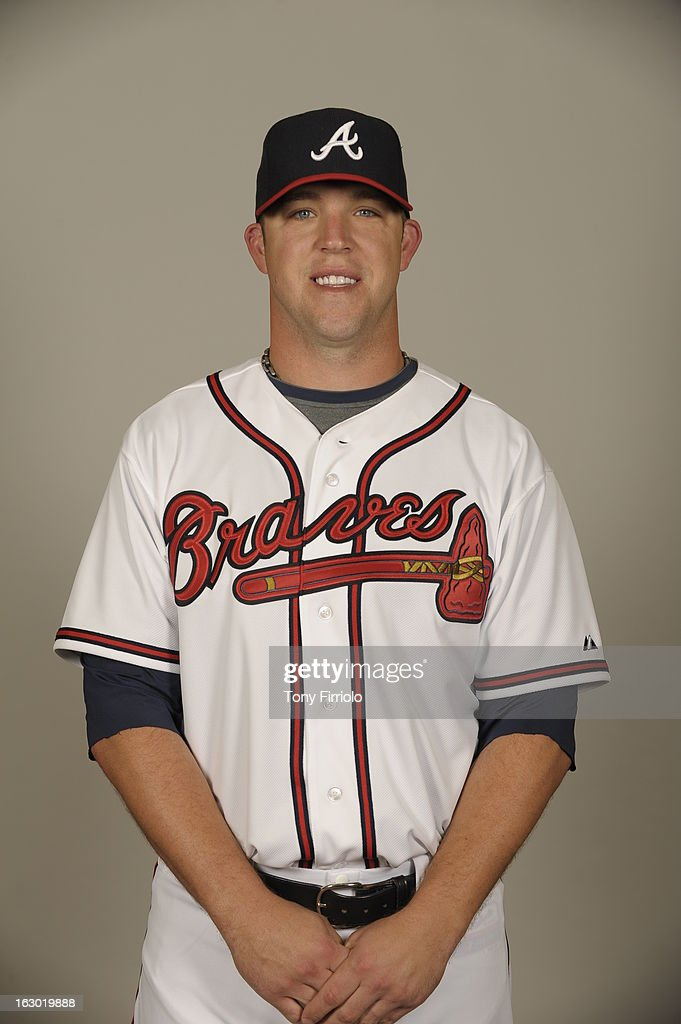 <a gi-track='captionPersonalityLinkClicked' href=/galleries/search?phrase=Paul+Maholm&family=editorial&specificpeople=585406 ng-click='$event.stopPropagation()'>Paul Maholm</a> #28 of the Atlanta Braves poses during Photo Day on Wednesday, February 20, 2013 at Champion Stadium in Lake Buena Vista, Florida.