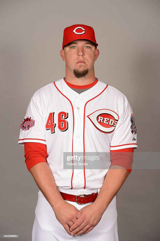 <a gi-track='captionPersonalityLinkClicked' href=/galleries/search?phrase=Paul+Maholm&family=editorial&specificpeople=585406 ng-click='$event.stopPropagation()'>Paul Maholm</a> #46 of the Cincinnati Reds poses during Photo Day on Thursday, February 26, 2015 at Goodyear Ballpark in Goodyear, Arizona.