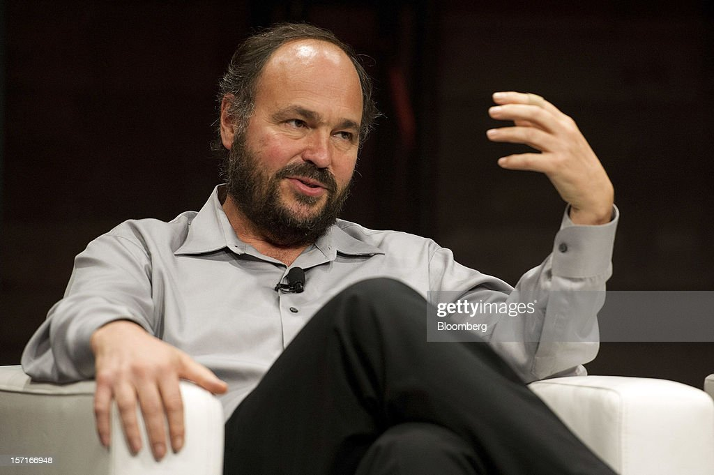 Paul Maritz, chief strategist at EMC Corp., gestures while speaking at the Minds + Machines 2012: Unleashing the Industrial Internet conference in San Francisco, California, U.S., on Thursday, Nov. 29, 2012. Thought leaders from across business, technology and academia will gather at the Minds + Machines 2012 conference to discuss the power of the Industrial Internet and why it matters. Photographer: David Paul Morris/Bloomberg via Getty Images