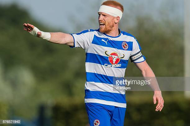 Paul Mc Shane of Reading FC during the Friendly Match between Al Taawoun FC and Reading FC at Sportpark Schuytgraaf on july 15 2016 in Arnhem the...