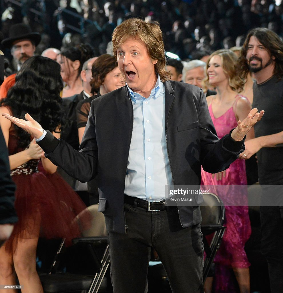 <a gi-track='captionPersonalityLinkClicked' href=/galleries/search?phrase=Paul+McCartney&family=editorial&specificpeople=92298 ng-click='$event.stopPropagation()'>Paul McCartney</a> accepts award onstage during the 56th GRAMMY Awards at Staples Center on January 26, 2014 in Los Angeles, California.