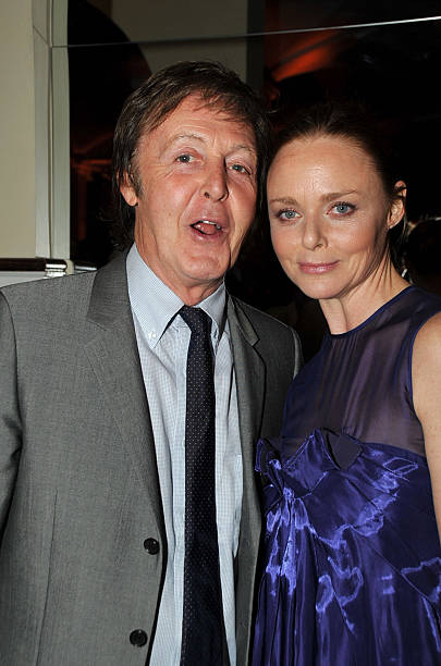 Paul McCartney And His Daughter Stella At The NRDC Forces For Nature Benefit Honoring