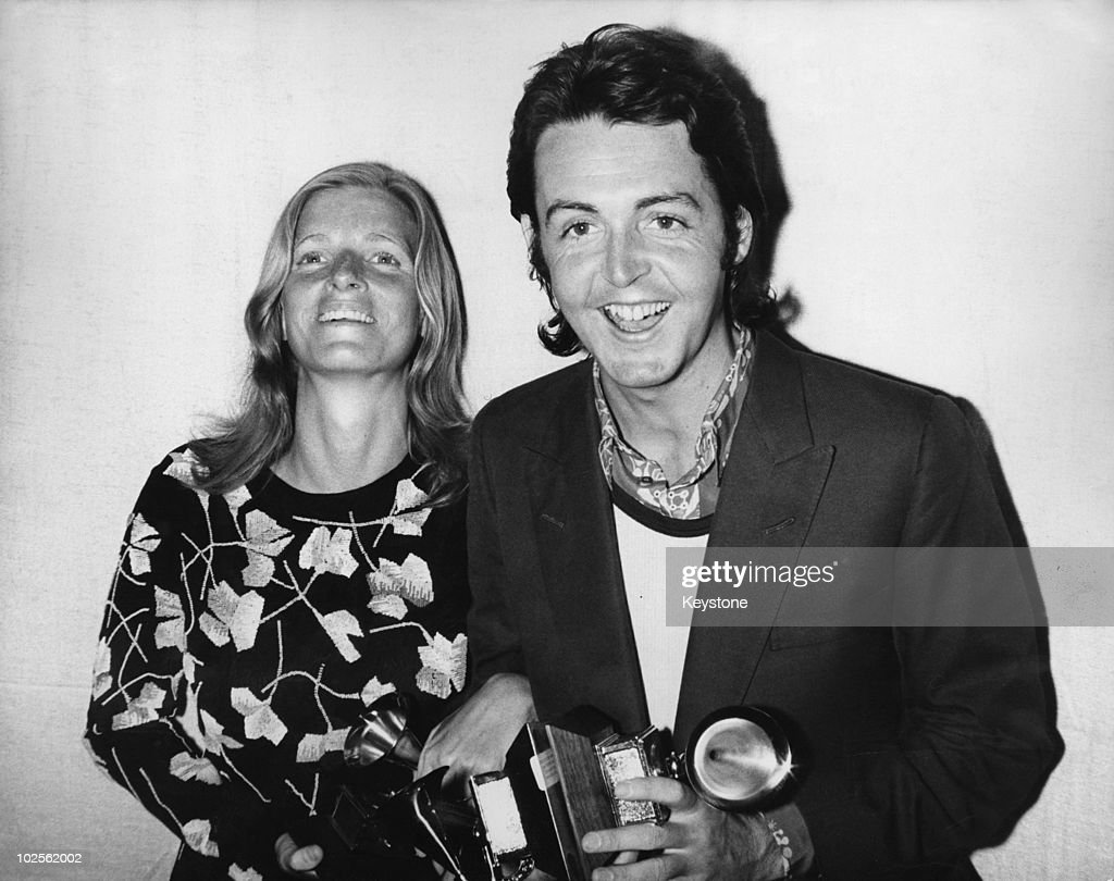 <a gi-track='captionPersonalityLinkClicked' href=/galleries/search?phrase=Paul+McCartney&family=editorial&specificpeople=92298 ng-click='$event.stopPropagation()'>Paul McCartney</a> and his wife Linda attend the 13th Grammy Awards at the Hollywood Palladium, Los Angeles, 16th March 1971. Paul is collecting the award for Best Original Score Written for a Motion Picture or a Television Special on behalf of the Beatles, for the song 'Let It Be'.