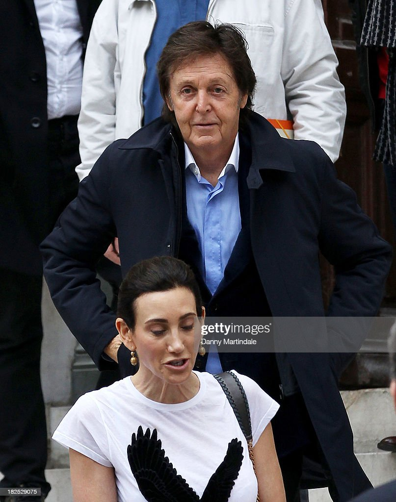 <a gi-track='captionPersonalityLinkClicked' href=/galleries/search?phrase=Paul+McCartney&family=editorial&specificpeople=92298 ng-click='$event.stopPropagation()'>Paul McCartney</a> and <a gi-track='captionPersonalityLinkClicked' href=/galleries/search?phrase=Nancy+Shevell&family=editorial&specificpeople=5085391 ng-click='$event.stopPropagation()'>Nancy Shevell</a> attend the Stella McCartney show at L'Opera de Paris during Paris Fashion Week Womenswear Spring/Summer 2014 on September 30, 2013 in Paris, France.