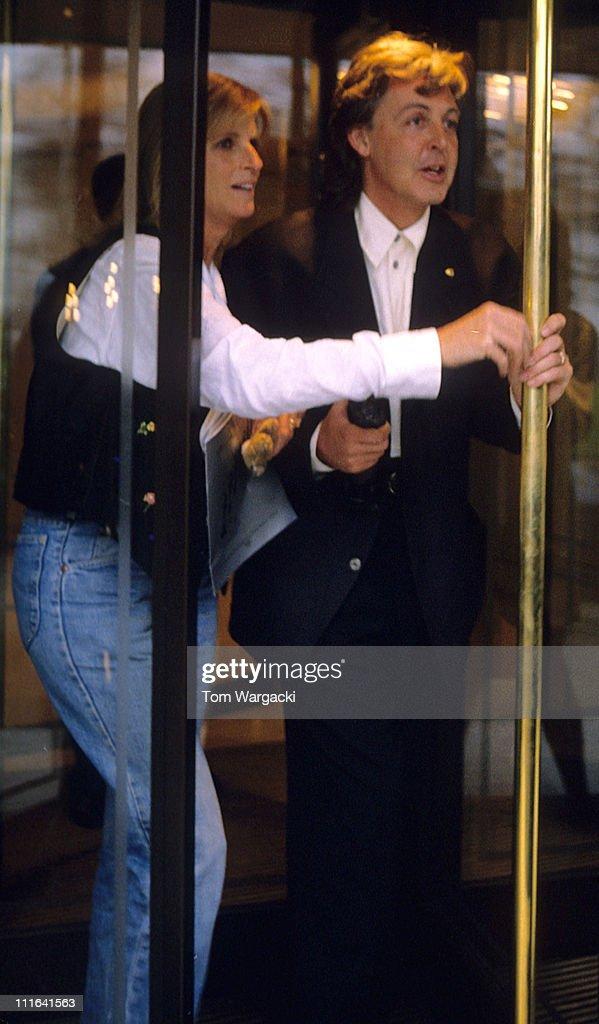 Paul McCartney at The Grosvenor House Hotel for the Ivor Novello Awards