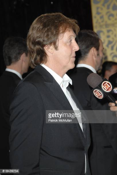 Paul McCartney attends 2010 Critics Choice Awards at The Palladium on January 15 2010 in Hollywood California