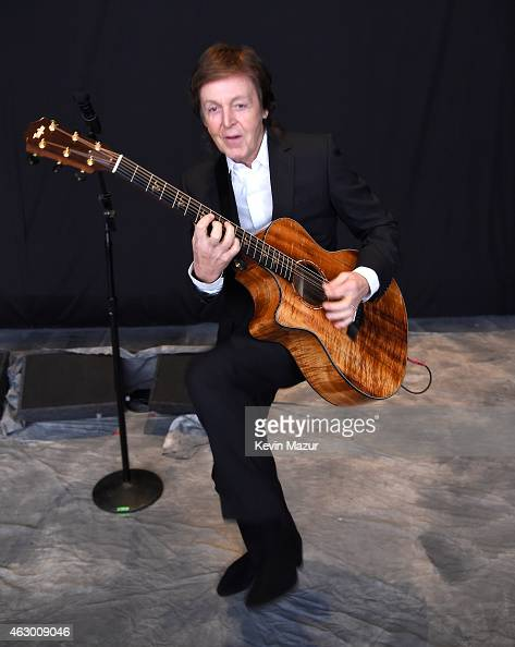 Paul McCartney attends The 57th Annual GRAMMY Awards at STAPLES Center on February 8 2015 in Los Angeles California