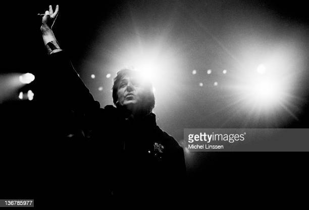 Paul McCartney performs on stage on the Paul McCartney World Tour at Ahoy in Rotterdam Netherlands on November 11th 1989