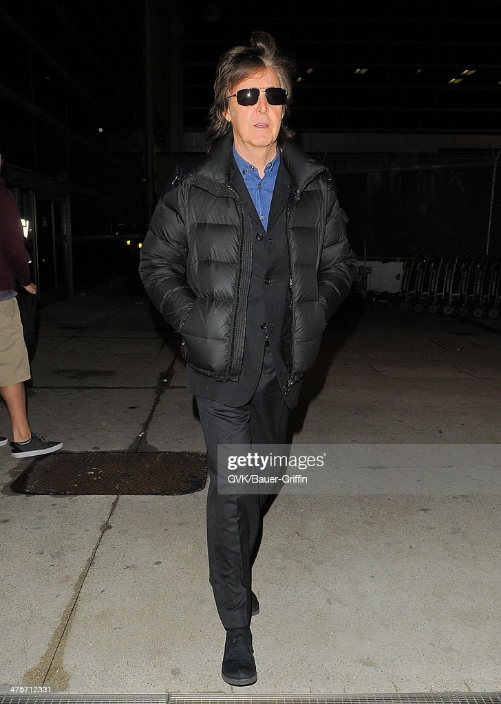 <a gi-track='captionPersonalityLinkClicked' href=/galleries/search?phrase=Paul+McCartney&family=editorial&specificpeople=92298 ng-click='$event.stopPropagation()'>Paul McCartney</a> seen at LAX airport on February 28, 2014 in Los Angeles, California.