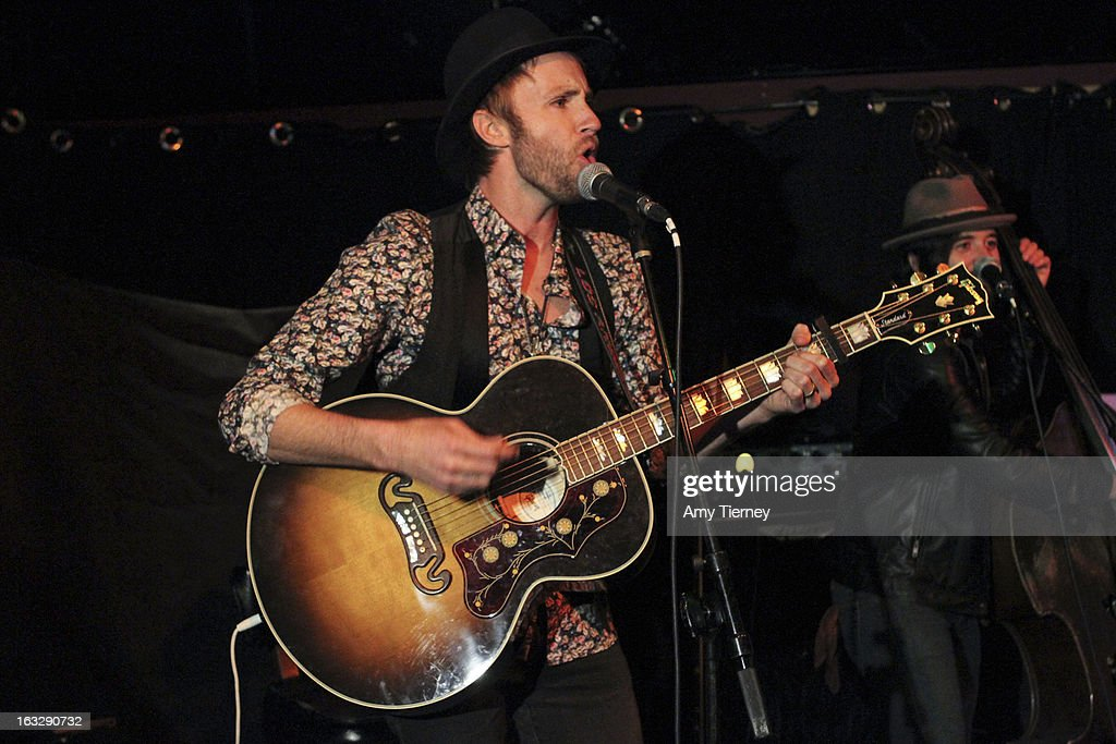Paul McDonald performs at The Roxy Theatre on March 6, 2013 in West Hollywood, California.